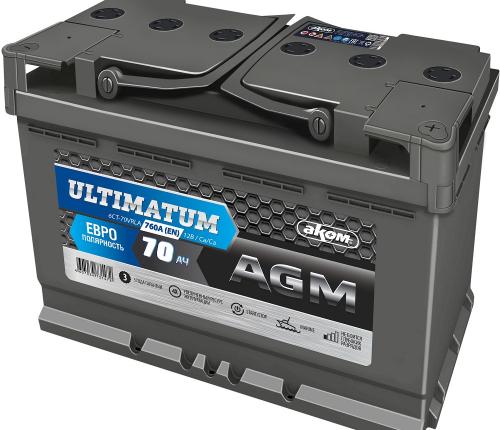 ULTIMATUM AGM 70 евро