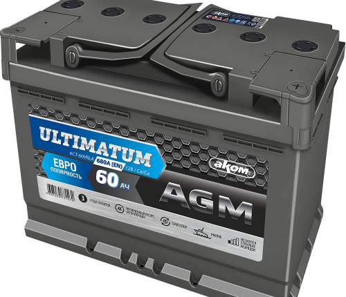 ULTIMATUM AGM 60 евро
